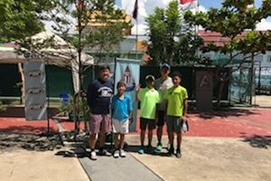 ATF タイ遠征 IN LTAT(Tha Lawn Tennis Asociation Of Tennis)  大会結果