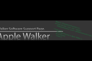 Walker Software Support Page