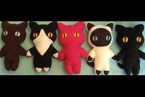 3.11.Charity stuffed cats