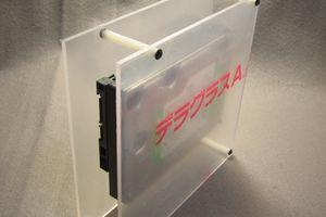 自作 3.5インチ アクリル HDD ケース