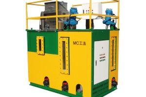濁水処理装置 SR5000/MC工法:汚泥の簡易脱水・可搬式袋脱水(フレコン脱水)処理システム