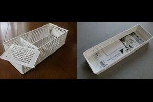 食器棚を効率的に使えるセリア・無印・ダイソーのおススメ収納ケース3つ