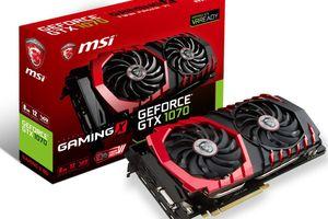 MSI GeForce GTX 1070 GAMING X 8G 『Twin Frozr VI/OCモデル』 グラフィックスボード VD6072