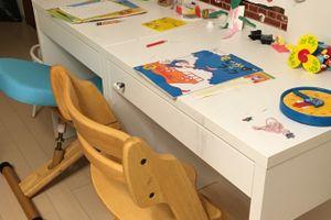 こどもの机は、こどもが一番遊ぶ部屋に置こう!
