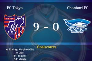 【海外の反応】「これ野球だろ」FC東京、チョンブリに9-0大勝!ACL本戦出場決定!