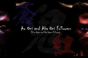 青鬼&赤鬼フォロワー「Ao Oni and Aka Oni Followers」のご紹介