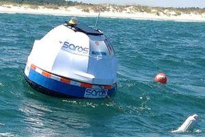 波の力で海水から飲料水を「SAROS」