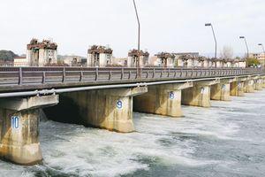 琵琶湖の水位マイナス23cm 放水量毎秒15トン(10月28日6時現在)