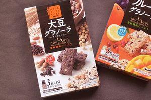 大豆グラノーラ カカオ&ナッツを開封(*´﹃`*)ココナッツモハイッテル