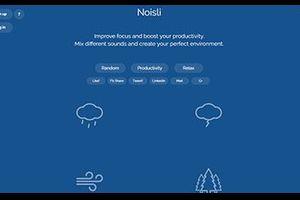 仕事がはかどる心地よい環境音を無料で作成できるサイト「Noisli」