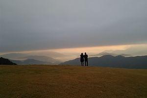 荒谷山の雲海を見に!