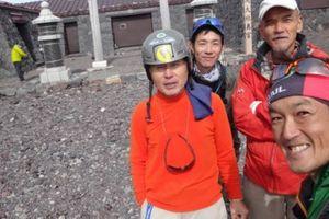 レジェンドの存在感85回目富士山頂