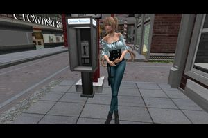 .::Dead Dollz::. Polly Outfit - Teal