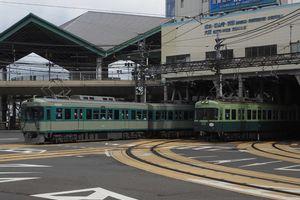 昔の京津線を想いつつ