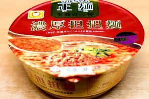 東洋水産 「マルちゃん 正麺カップ 至高の一杯 濃厚担担麺」