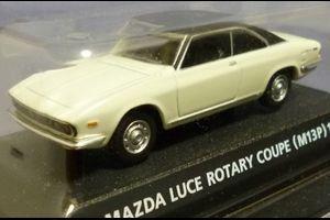 本日の追加品は~ 2016.10.24 マツダ ルーチェ ロータリークーペ 1969(M13P、コナミ絶版名車コレクション