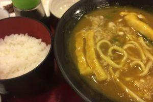11/27 カレーうどん定食