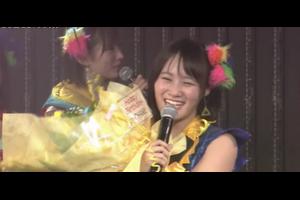 【NMB48】城恵理子生誕祭『弱気な自分はもういない。ファンの方が自信をつけさせてくれた。』