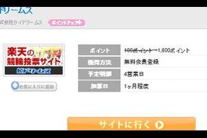 【Kドリームス】ちょびリッチから無料会員登録で800円もらえます!