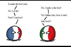 【フランス&イタリア】フランスとイタリアが戦争するとよ!【ポーランドボール】