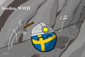 【スウェーデン】中立のスウェーデン【ポーランドボール】
