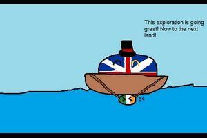 【イギリス】イギリスがオーストラリアを発見するよ【ポーランドボール】