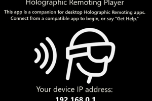 HoloLens Holographic Remotingの利用方法