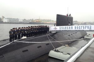 黒海艦隊の為のプロジェクト06363潜水艦5番艦ヴェリキー・ノヴゴロドはロシア海軍へ就役した