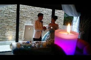 恵子ちゃんの結婚式。