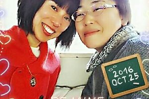 hp Mac Teamのみなさん!岡野さんに会ったよ~?I met the friend whom I missed very nostalgic in Nakameguro, Tokyo.