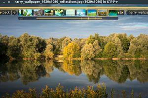 Fragment Image Viewer - 独特なHUDインターフェイスが使いやすい画像ビューア