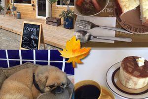 カフェ楓荘 塩豚と野菜のポトフと 名物・楓荘のホットケーキ