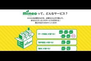 【mineo】 mineoユーザーによる mineoユーザーのための mineo情報まとめ