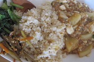 今日の朝食 麻婆豆腐