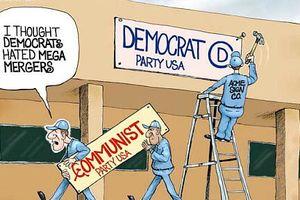 アメリカの民主党は、オバマによって共産主義政党に変貌する