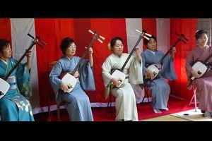 おいでませ「福の里」へ最終回・・・・津軽三味線演奏会 悠久の会