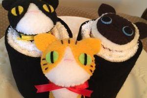 手作り猫マスコット クラフトフェア出店しました Craft Fair - Cat ornaments