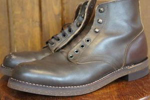 60's ? 70's Unknown Work Boots