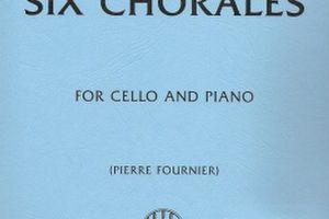 バッハ:6つのコラール/チェロ・ピアノ