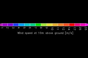 石川県の天候(風速、波、雨量・雨雲) GPV気象予測