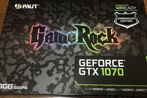 Palit社製 GeForce® GTX 1070 レビュー
