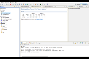 Zybot で Gabor filter を使う際のDMA Write IP