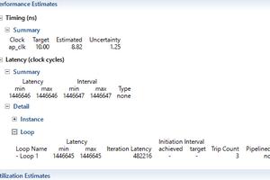 memcpy() を利用したDMA Read IP 2(memcpy() が 2 個の場合)