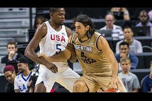 【バスケリオ五輪】アルゼンチン、序盤米国にリードも敗退…ジノビリらベテラン組も代表引退か