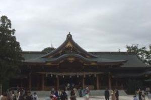 寒川神社は凄かったです