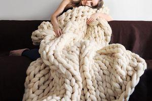 ウクライナ発「ohhio」のChunky Knit Blanketがすごい。