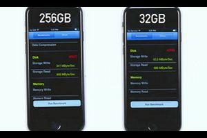 【衝撃の事実】iPhone7の32GBモデルは他のモデルより、なんと8倍も鈍い・・・