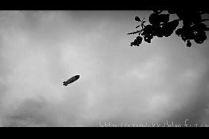 『神対応と飛行船♪』