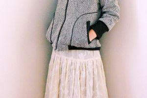 リクエストにお応えして、オジジャンコーデのスカート作り方