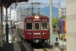 阪急正雀車庫10/16・・・C#7100の連結器